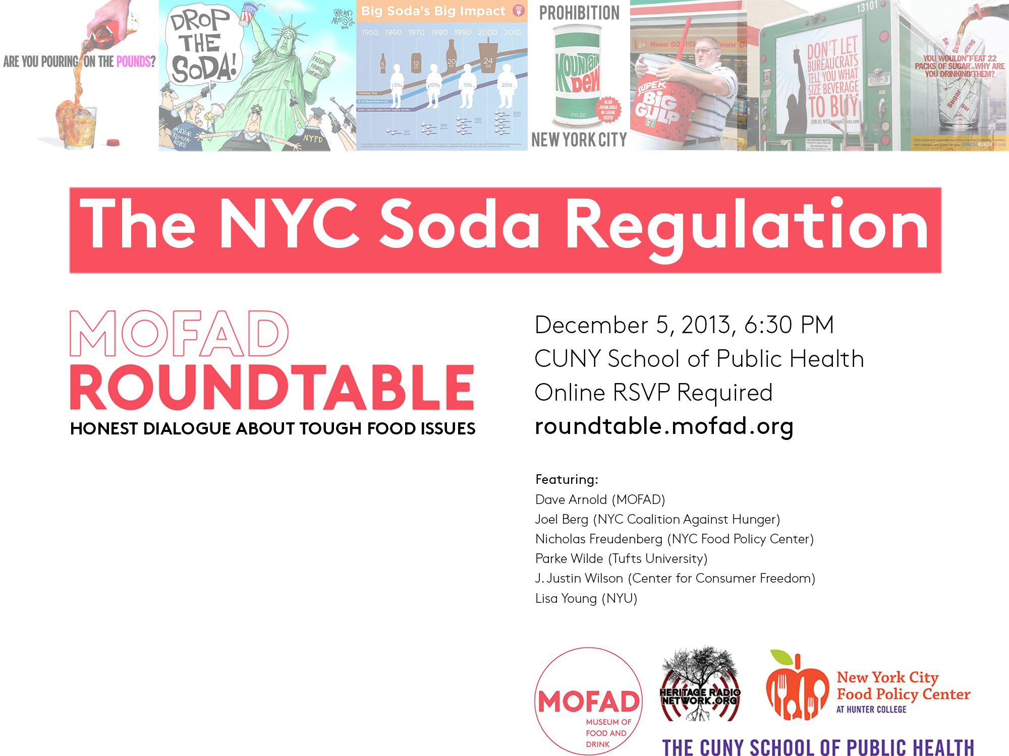 Round table discussion flyer - Click Here For Event Flyer