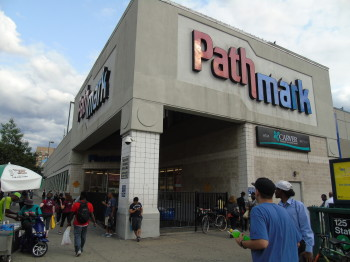 Pathmark supermarket, located at 125th street and Lexington Avenue