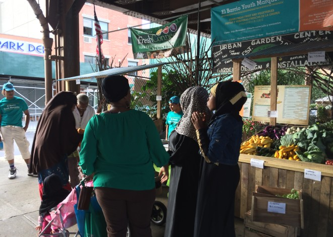 La Marqueta Farmers' Market + El Barrio Youth Marqueta Event