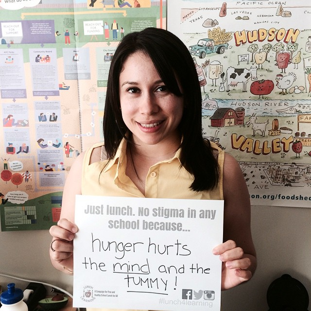 We support #lunch4learning - free school meals for all NYC…