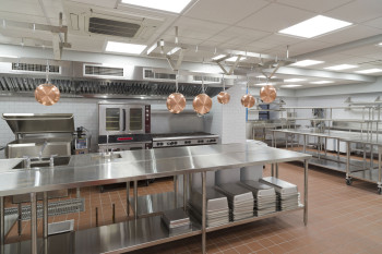 In May, Lenox Hill Neighborhood House completed the renovation and expansion of our main kitchen, creating a facility designed around fresh food and scratch cooking.