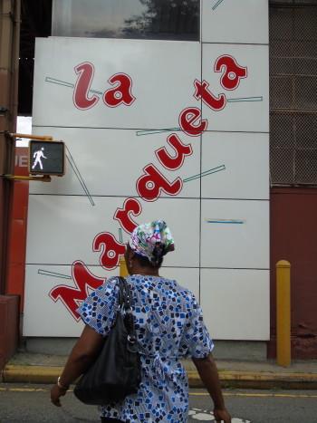 East Harlem's historic public market La Marqueta