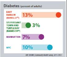 NYC Department of Health East Harlem Community Health Profile, 2015